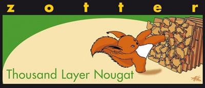 Zotter Thousand Layer Nougat