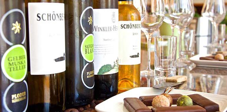 Программа высшей пробы: вино c шоколадом Zotter
